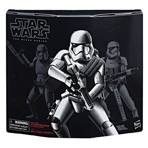 Star Wars The Black Series First Order Stormtrooper with Gear (U.S. Store Exclusive)